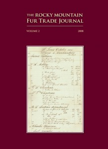 Rocky Mt Fur Trade Journal 2008 (Sold Out)