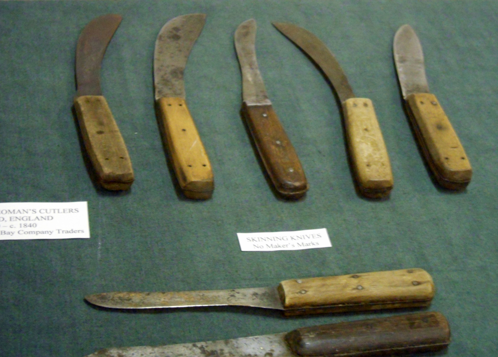 Knives Museum Of The Mountain Man