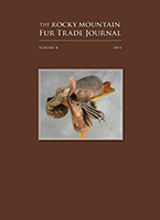Rocky Mountain Fur Trade Journal, Volume 8